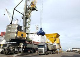 Importação de fertilizantes cresce 49% no Porto de Antonina